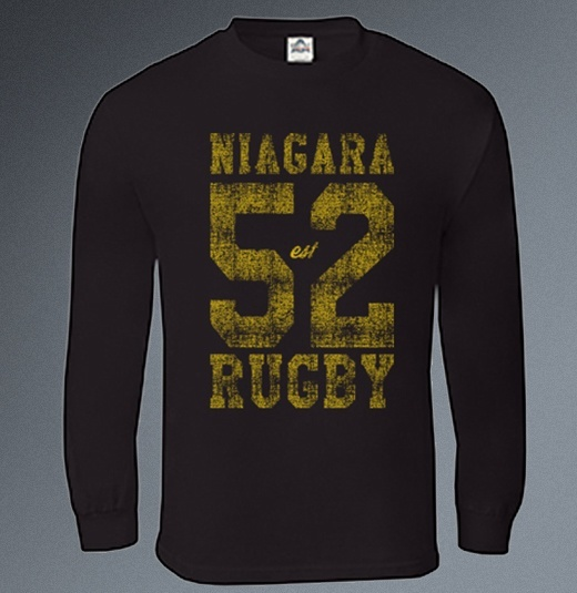 Niagara Rugby est. 1952 Long Sleeve T-Shirt